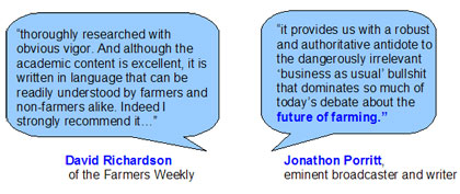 Jonathon Porritt and David Richardson quotes